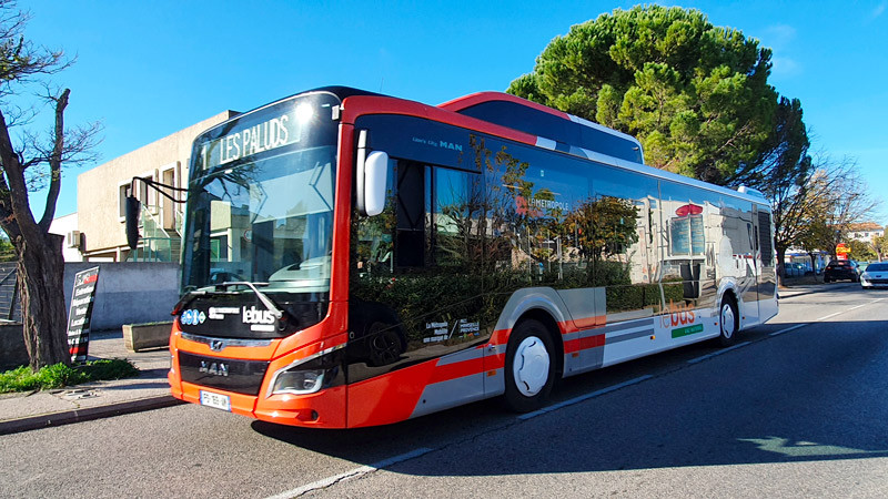 Aubagne Bus GNV hybride