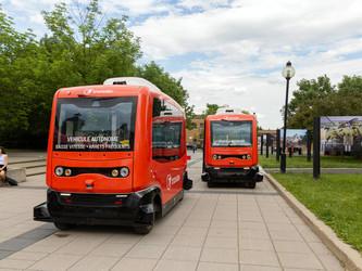 Transdev teste 2 navettes autonomes à Montréal