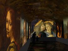 Une Galerie Léonard de Vinci au Clos Lucé