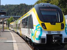 Alstom présente sa première rame à batterie en Saxe