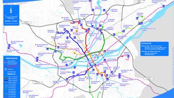 Nantes métropole ouvre un parc-relais de 5 niveaux
