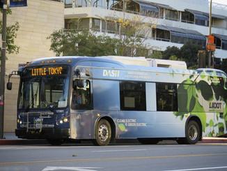 Los Angeles commande 134 bus électriques BYD