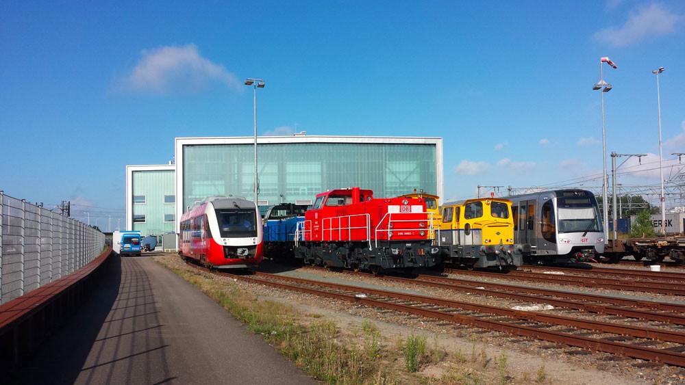 Shunter, Pays-Bas