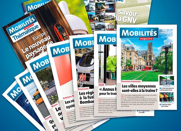 Mobilités Magazine - France métropolitaine - abonnement 2 ans