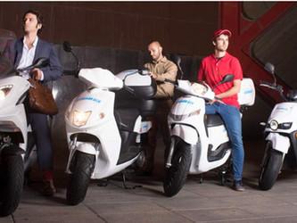 FREENOW partenaire des scooters électriques Cooltra