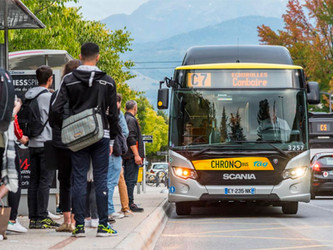 100 Scania Citywide GNV à Grenoble fin 2021