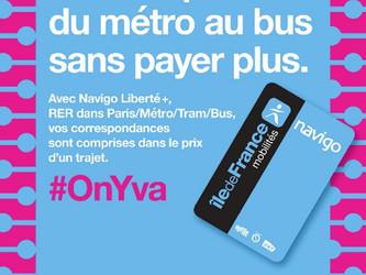 Ile-de-France : lancement de Navigo Liberté+