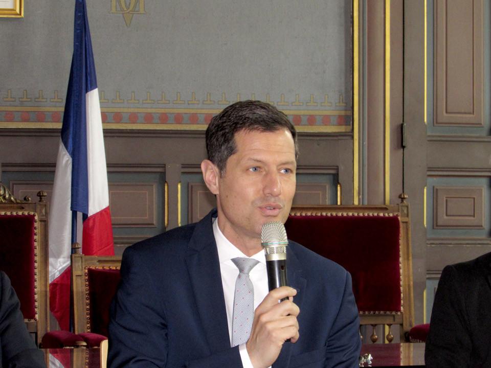 Nicolas Daragon, vice-président de la Région Auvergne-Rhône-Alpes, délégué au tourisme et au thermalisme.