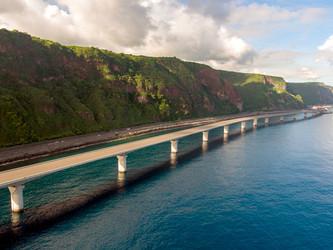 Ile de la Réunion : le viaduc 5400 a été livré