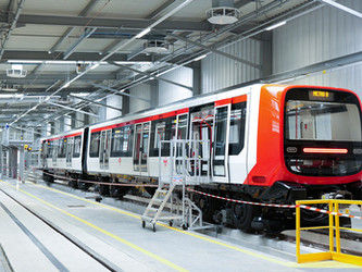 Nouvelles rames pour la ligne B du métro de Lyon