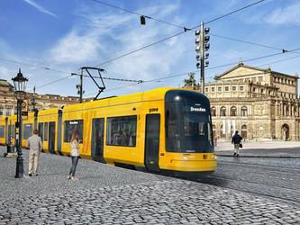 Nouveaux trams Flexity Bombardier pour Dresde