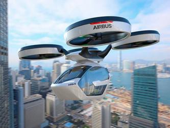 Taxi-drone : une solution pour la RATP ?