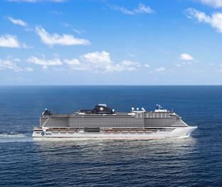 Le futur MSC Seashore à la pointe des technologies