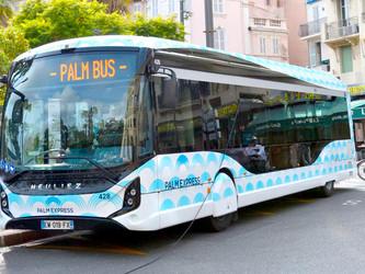 Cannes Lérins et Palm Bus choisissent Heuliez Bus