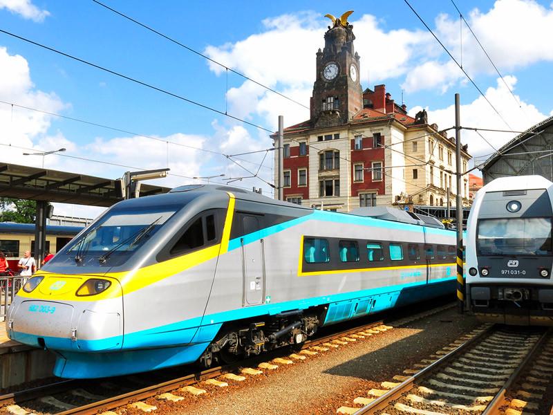 Première ligne à grande vitesse tchèque