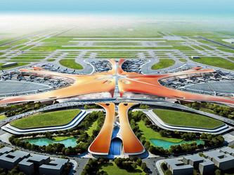 Métro super-express et TGV pour le méga-aéroport de Pékin