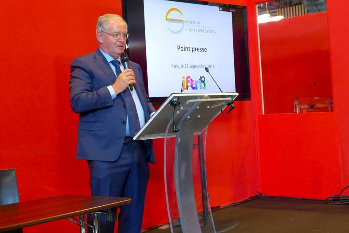 René-Marc Chikli, président du Seto. © Catherine Mautalent