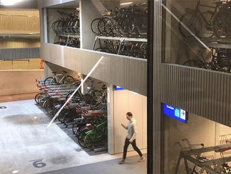 Le plus grand parking à vélo du monde en gare d'Utrecht