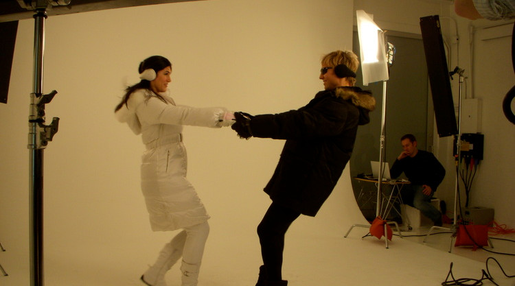 180s Outerwear Accessorites TV Commercial Shoot
