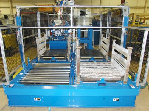 Robot and Rack Handling System