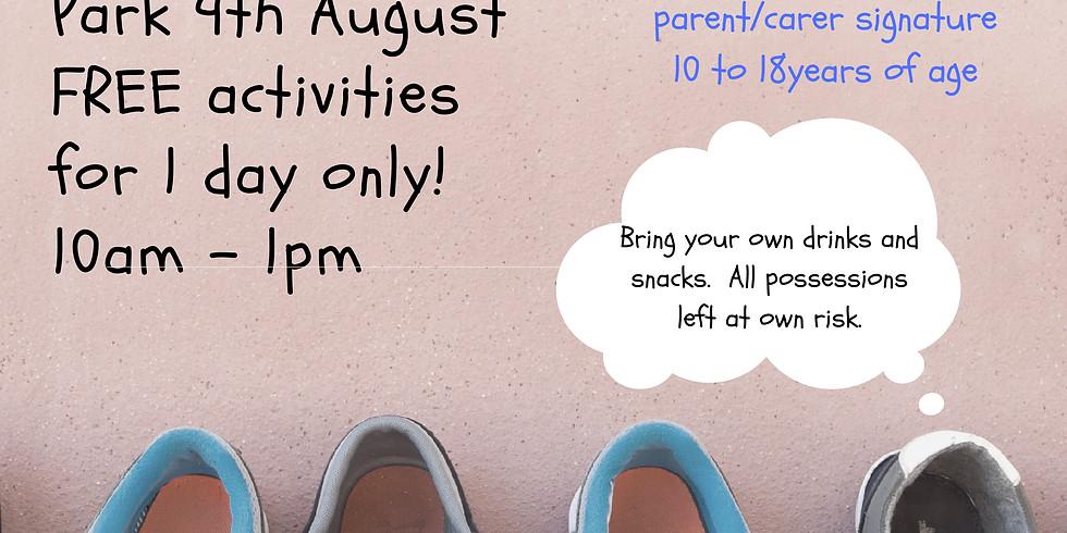 SUMMER ACTIVITY DAY - 9 August