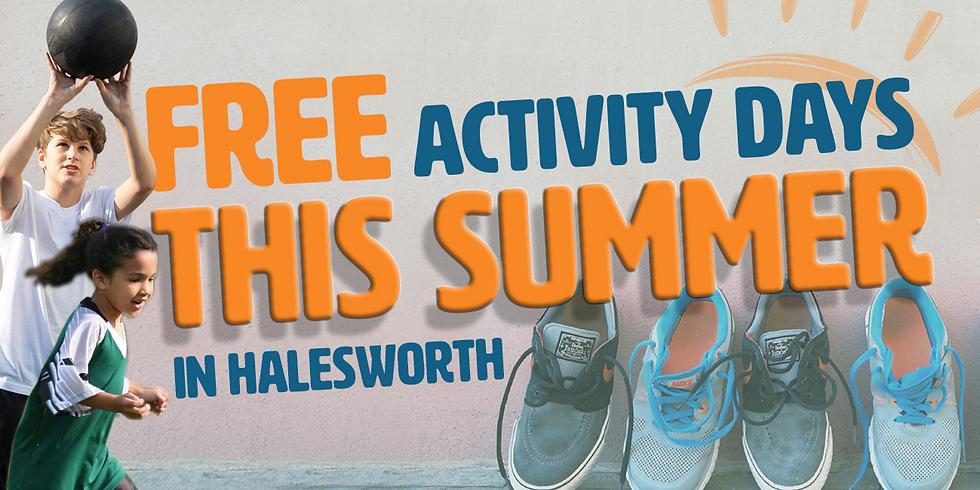 Halesworth FREE Summer Activity Day - 20th August 2021