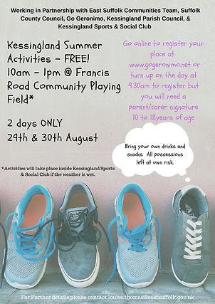 kessingland summer activities 5th june.j