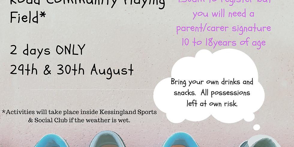 SUMMER ACTIVITY DAY - 30 August