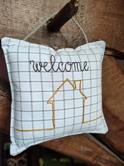 Coussin Welcome