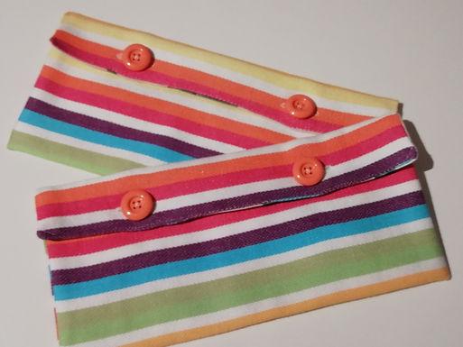 pochette à sandwich multicolore
