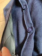 ceinture de couture bleue marine