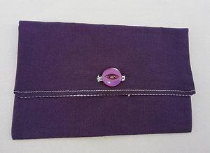 Pochette pour papiers violette