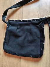 ceinture de couture noire