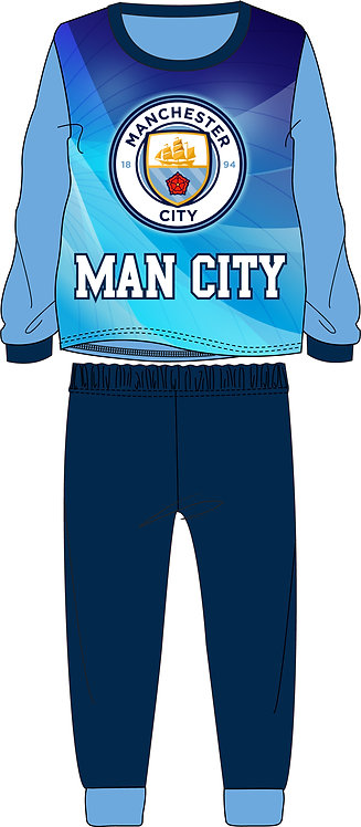 BOYS MANCHESTER CITY PYJAMA 6-13 YEARS