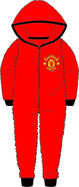 Boys Manchester United Onesie 3-12yrs