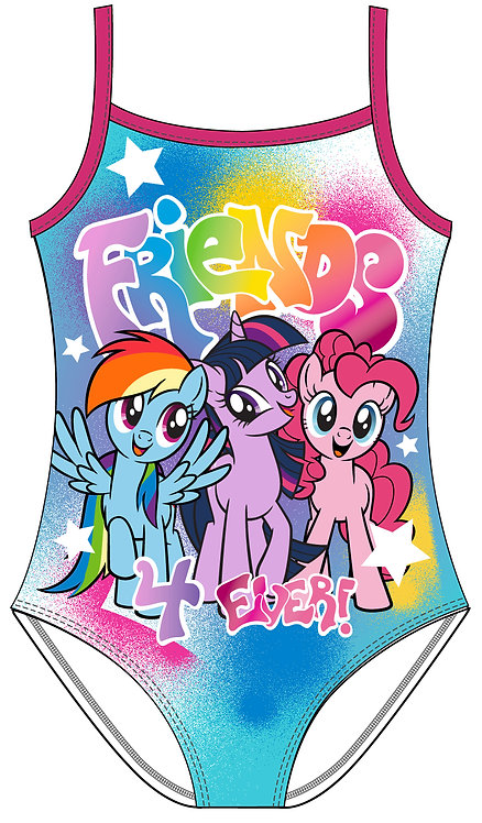 Girls My Little Pony Costume 2-6yrs