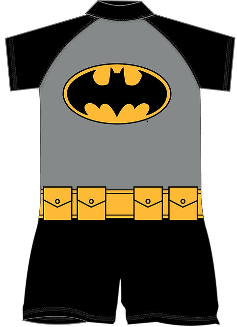BOYS BATMAN SURFSUIT 18MON-5YRS