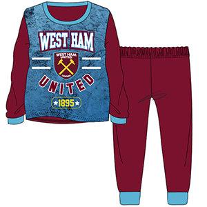 Boys West Ham Pyjama 3-12yrs