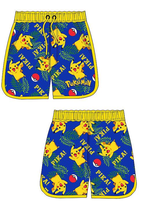 Mens Pokemon Board Shorts S-XL