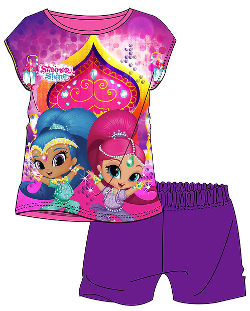GIRLS SHIMMER AND SHINE SHORTIE 18MON-5YRS
