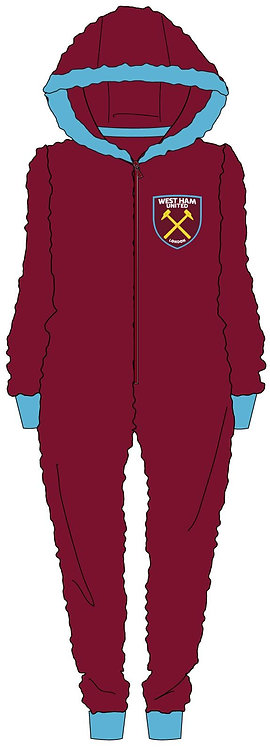 Mens West Ham Onesie M-XL