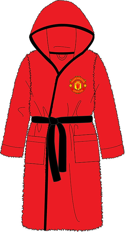 Mens Manchester United Dressing Gown S -L