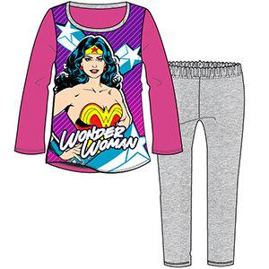 Girls Wonder Woman Pyjama 3-10yrs