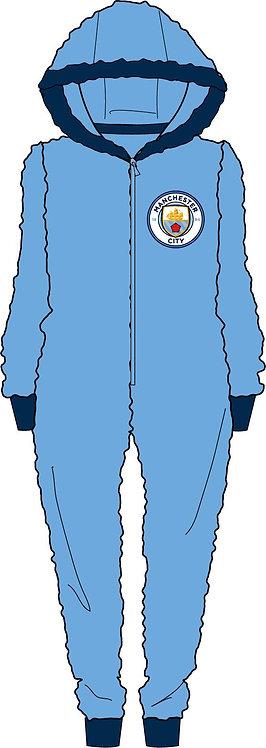 Mens Manchester City Onesie M-XL