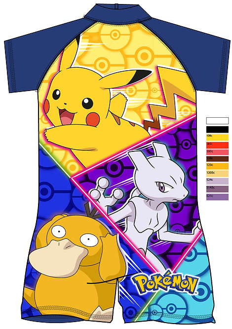 BOYS POKEMON SURFSUIT 18MON-5YRS