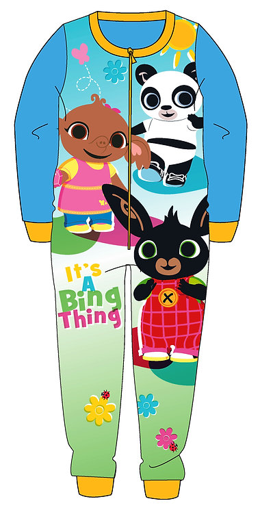 GIRLS BING ONESIE 2-6YEARS