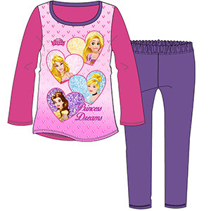 Girls Disney Princesses Pyjama 3-10yrs