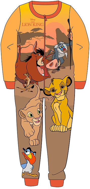 BOYS LION KING ONESIE 2-6YEARS