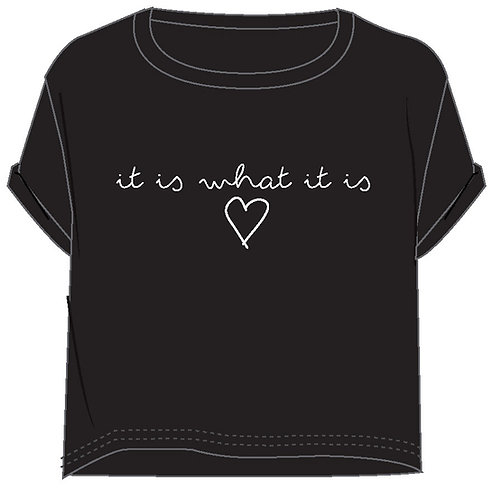 WOMENS WHAT IT IS T-SHIRT