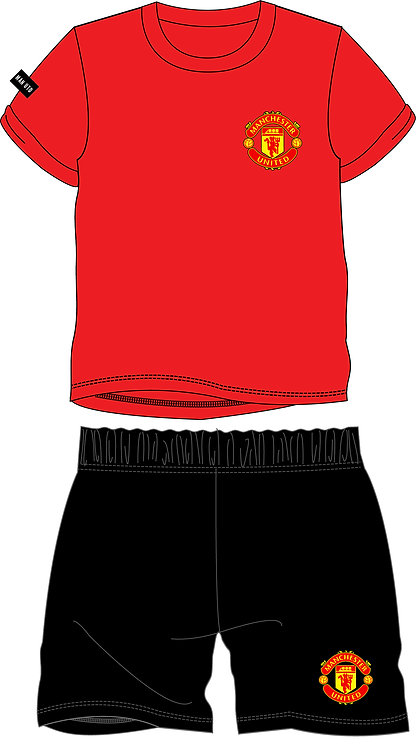 BOYS MANCHESTER UNITED SHORTIE 3-12YEARS